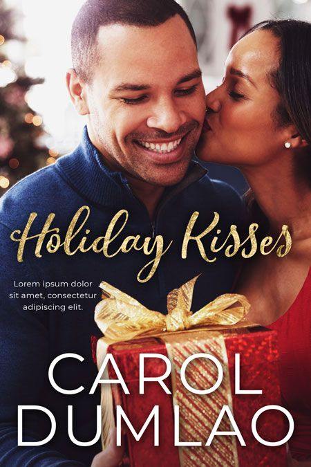 Holiday Kisses Book Covers For Sale Premade Book Covers Cover