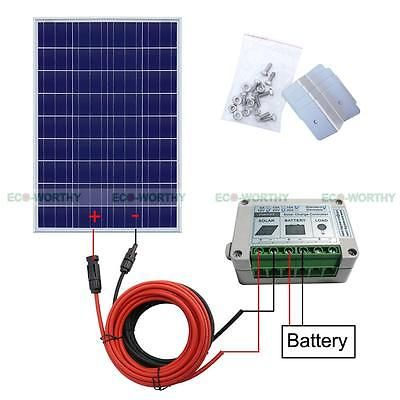 Off Grid Solar System Kit 100w 200w 600w Charging 12v 24v Battery Power Home Rv Solar System Kit Solar Panel System Solar Panel Kits