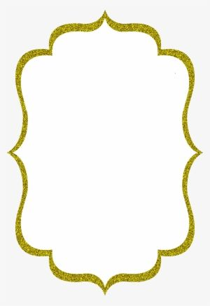 Gold Circle Frame Border Design Border Clipart Gold Glitter Png And Vector With Transparent Background For Free Download Gold Circle Frames Frame Border Design Circle Frames