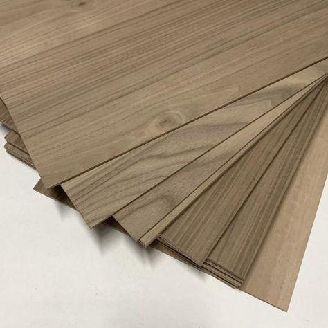 Walnut Plywood 1 4 Inch 6mm Glowforge Size Wood Laser Etsy In 2020 Walnut Plywood Wood Woodworking Supplies