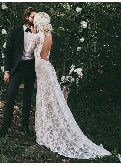 Cheap Engrossing Wedding Dresses Lace Vintage Wedding Dresses High Neck Wedd Mermaid Beach Wedding Dresses Lace Wedding Dress Vintage High Neck Wedding Dress