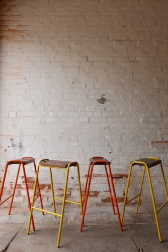 Fabulous Vintage Retro Industrial Stacking Science Lab School Cafe Ocoug Best Dining Table And Chair Ideas Images Ocougorg