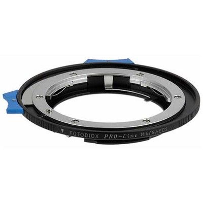 No Focus Confirmation Chip Fotodiox Pro Mount Adapter for Nikon F Lens to Canon EOS EF-Mount Camera