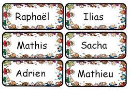 Resultat De Recherche D Images Pour Etiquettes Prenoms A Imprimer