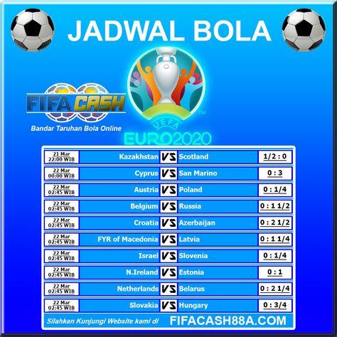 Jadwal Bola Euro 2020 Kualifikasi Euro2020 Jadwalbola Fifacash Pertandinganeuro Jadwaleuro Pertandignanbola Ligaeuro Sepak Bola Dunia