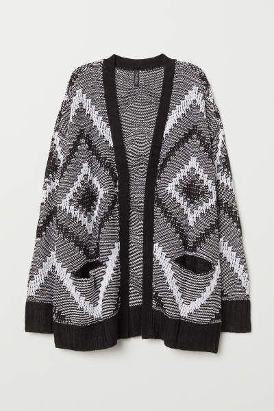 Cardigans Pullover Damen Online Bestellen H M De Knit Cardigan Cardigan Jacquard Knit