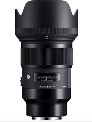 New Sigma 50mm F1 4 Dg Hsm Sony E Mount Art Lens Sigma Art Lens