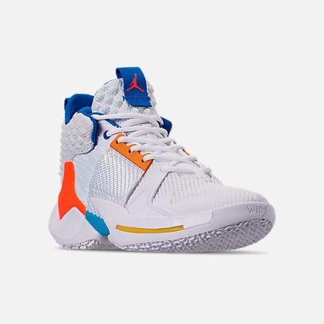 Men's Air Jordan Why Not Zer0.2 Basketball Shoes| Finish