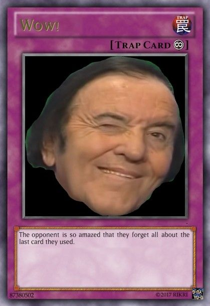 Wow Trapcard Funny Yugioh Cards Yugioh Cards Yugioh Trap Cards