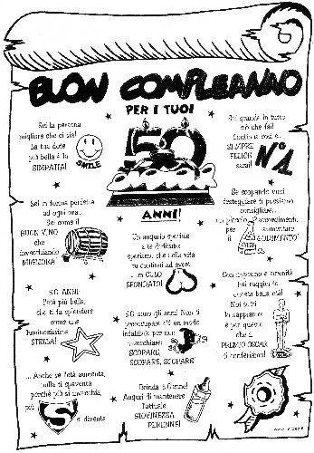 Frasi Auguri Compleanno 50 Anni 50 Michele 50th