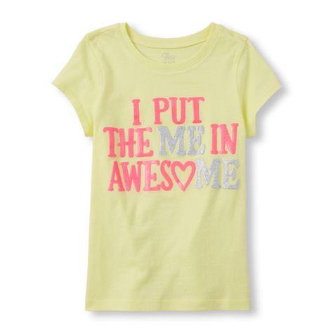 BNWT Cool Girl Trendy Fashion Kids T-shirt 3-15 Ans