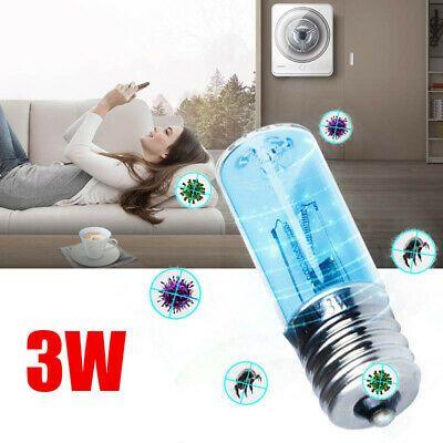 3W Ultraviolet Germicidal Disinfection Sterilization Quartz Lamp Bulb UVC