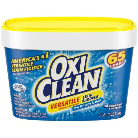 Oxi Clean Laundry Stain Remover Tragos Advertencia