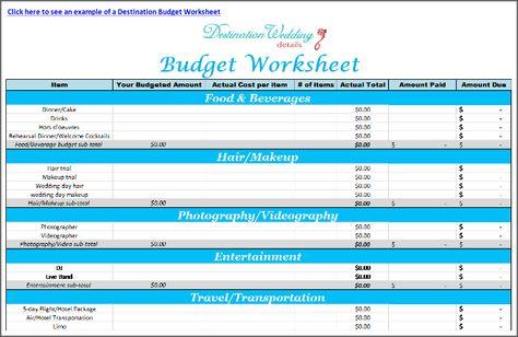 Simple-Destination-Wedding-Budget-Template Wedding planning