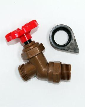 Rainrecycle Spigot And Threaded Seal Rain Barrel Barrel Faucet