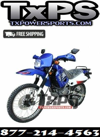 New Enduro Dirt Bike Street Legal Dirt Bike 200cc Free Shipping