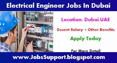 Electrical Engineer Jobs In Dubai - Electrical Engineering