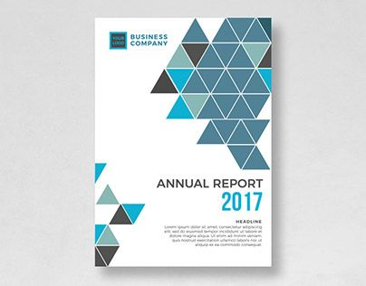 Check out new work on my @Behance portfolio  - annual report cover template