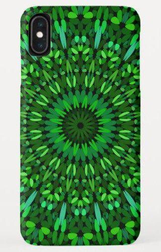 Green Leaves Mandala iPhone XS Max Case #PhoneCase #MandalaiPhoneCase #PhoneAccessory #iPhoneAccessories #PhoneCaseDesign #iPhonedesign #PhoneDesign #smartphones #accessories #CaseDesign #design #MandalaiPhones #zazzle #MandalaPhoneCases #iPhoneCases #phone #iPhone #cases #MandalaCase #MandalaPhone