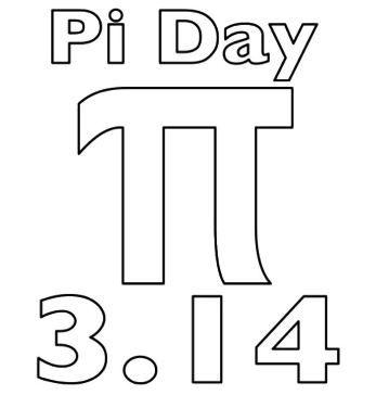 Pi Day Coloring Page Matematik Sinif 1 Sinif