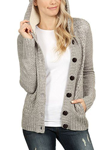 Women Casual Long Sleeve Knitwear Jumper Cardigan Coat Jacket Sweater Pullover G