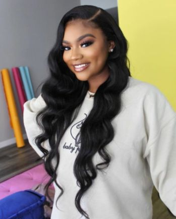 hairstyles color hairstyles long hair are the curly hairstyles hairstyles diamond face shape hairstyles easy to do curly hairstyles hairstyles is beautiful hairstyles african american hair pictures Sew In Hairstyles, Side Part Hairstyles, Baddie Hairstyles, My Hairstyle, Black Women Hairstyles, Pretty Hairstyles, Body Wave Hairstyles, 1950s Hairstyles, Formal Hairstyles