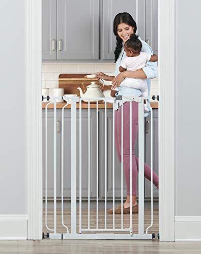 Easy Step Walk Thru Gate Wood Lock Baby Safety By Regalo