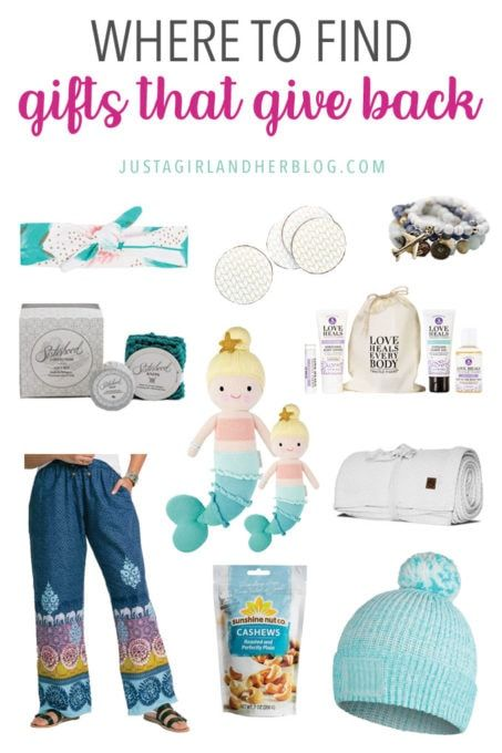 Where To Find Gifts That Give Back In 2020 Presents For Kids Charity Gifts Gifts