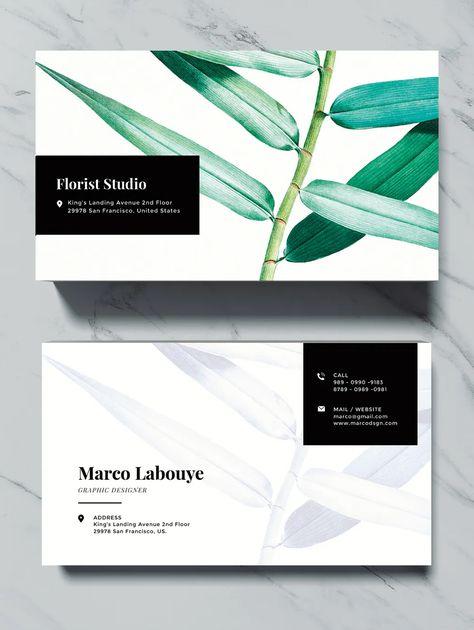 Elegant Business Card Template PSD