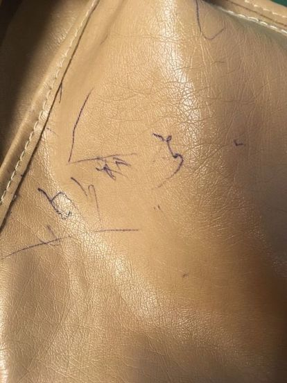 How Do I Remove Ball Point Ink From A Leather Purse Clean Pen