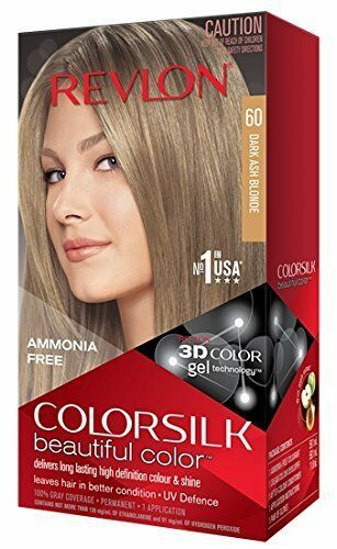 New Revlon Colorsilk Permanent Color Dark Ash Blonde Hair Dye