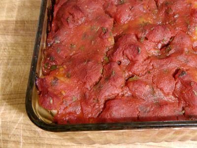 Arabic Meatloaf with Potatoes (Kiftet Batatta)