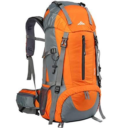 50L Lightweight Water Resistant Hiking Backpack,Outdoor Sport Daypack Travel Bag for Climbing Camping Touring