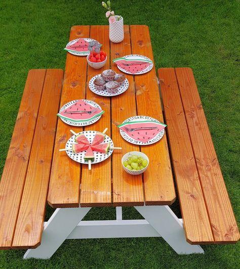 Diy Picknicktisch Fur Kinder Gartentisch Kinder Picknicktisch