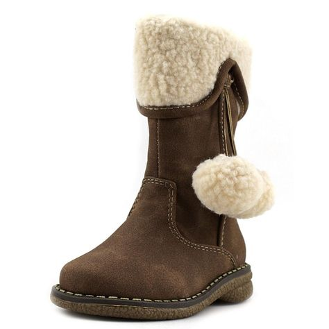 VECJUNIA Boys Girls Toddler//Little Big Kid Snow Boots Thicken Fleeced Winter Shoes