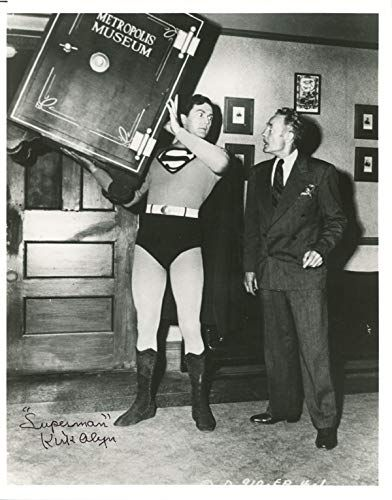 Kirk Alyn Signed Autographed 8x10 Photo First Film Superman Rare Beckett Bas In 2021 Superman 8x10 Photo First Superman