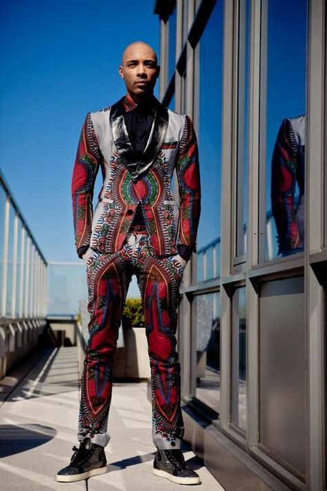 Brand: Toure Designs Designer: Alhassan Toure Fall 2013 Lookbook cutfromadiffcloth.tumblr.com  #ItsAllAboutAfricanFashion #AfricanKing #AfricanPrints #AfricanStyle #AfricanInspired #StyleAfrica #AfricanBeauty #AfricanFashion