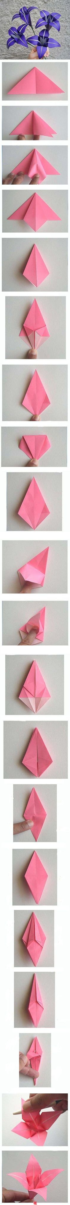 I actually know how to fold these