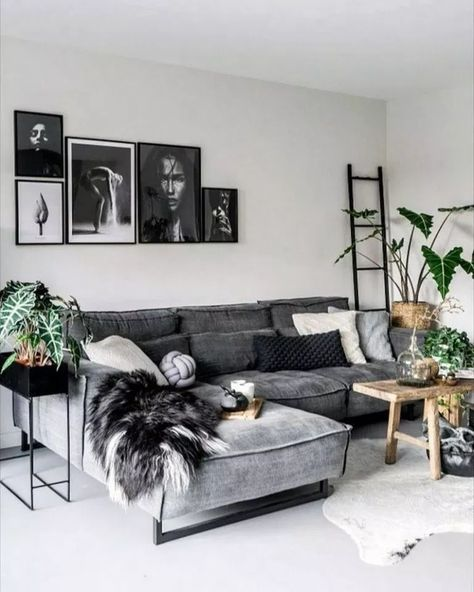 75 Grey Small Living Room Apartment Designs to Look Amazing #smalllivingroom #livingroom #greylivingroom ~ aacmm.com