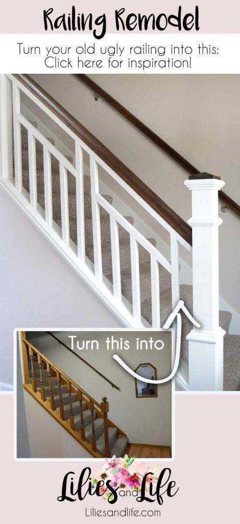 Railing Reveal Modern Stair Railing Diy Stair Railing Modern Stairs