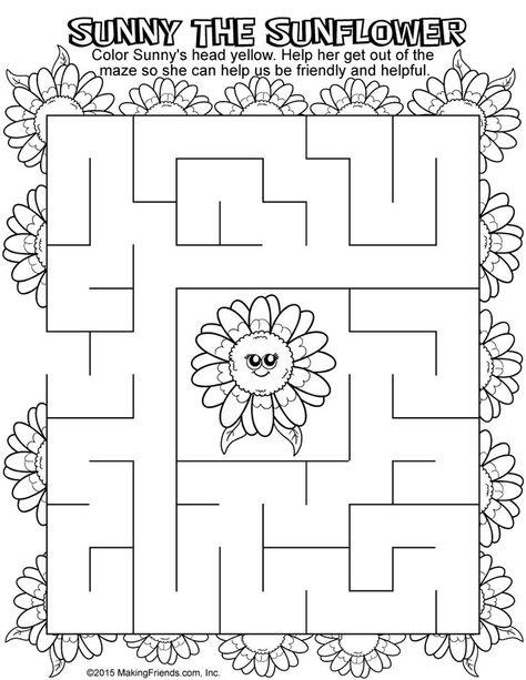 Green Petal Maze | crazy mom | Imagenes variadas, Scouts, Dibujos