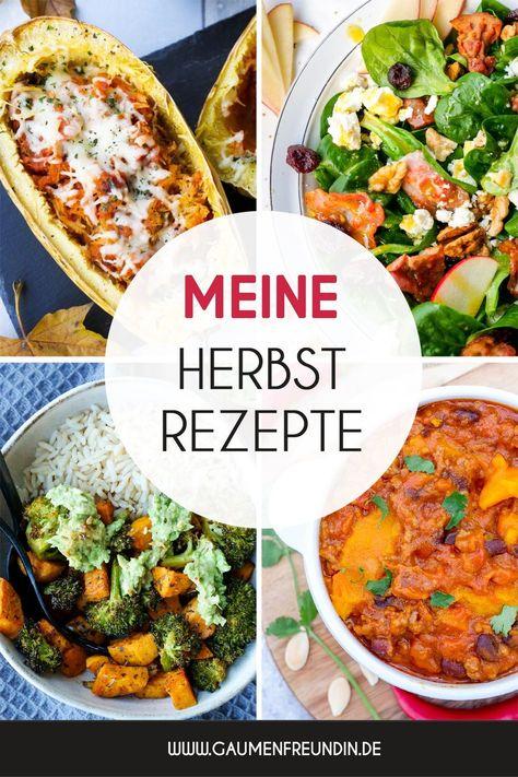 Hier findest du meine liebsten schnellen und gesunden Herbstrezepte. Vom wärmenden Curry über knackige Salate und schnelle Bowls für die Mittagspause im Büro. Lass dir meine Rezepte mit Kürbis, Äpfeln, Brokkoli und Süßkartoffeln fantastisch schmecken - Gaumenfreundin Foodblog #herbst #herbstrezepte #gesunderezepte #kürbis #kürbisrezept #curry #salatrezepte