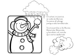 Que Puedo Hacer Hoy El Senor Invierno Invierno Manualidades De Invierno Cancionero Infantil