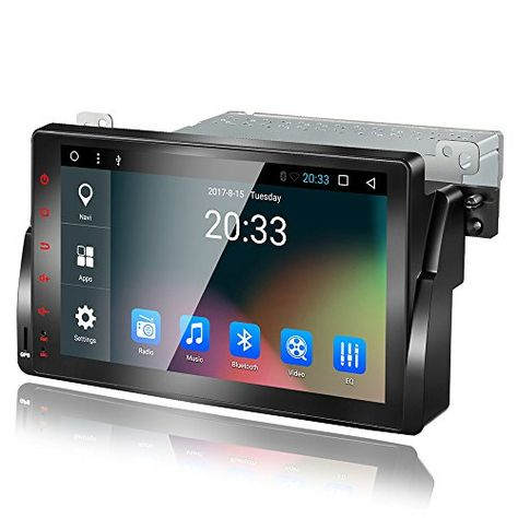 Amaseaudio Upgrade 9 Inch Tft Lcd Touch Screen Android 7 1 Auto Car Radio Player 1 Din Deckless In Dash Navigation G Radio Player Car Stereo Android Car Stereo