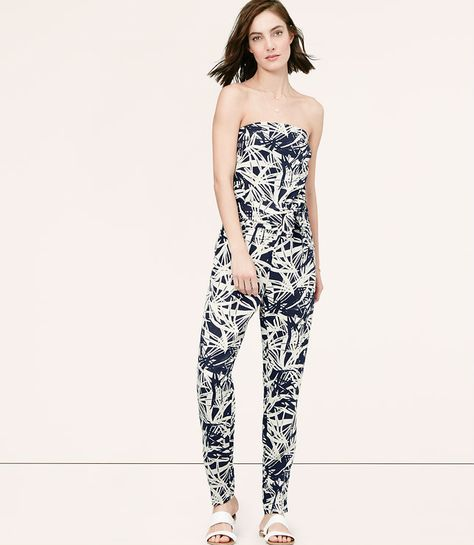 d9368b4534c0 Primary Image of Frond Strapless Jumpsuit   Wear This   Fashion ...