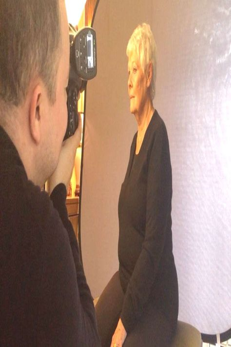 #headshotphotography #portrait #sitting #behind #scenes #dench #from #with #dame #judy #the #a #f Behind the scenes from a portrait sitting with Dame Judy Dench. FYou can find Headshot photography and more o...