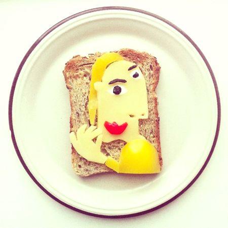funny toast