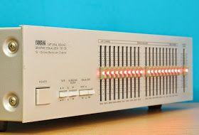 AudioBaza: Yamaha GE-30 - Graphic Equalizer | Mono Stereo in