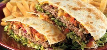 Gluten Free Burger Quesadilla Livinglifelovingus Quesadilla Burgers Applebees Recipes Quesadilla Burger Recipe