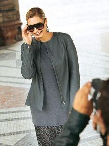 Burda Style: Damen Jacken Lange Jacken Lederjacke